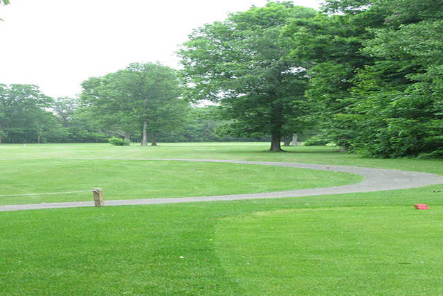 A view from a tee at Rolling Hills Golf Course