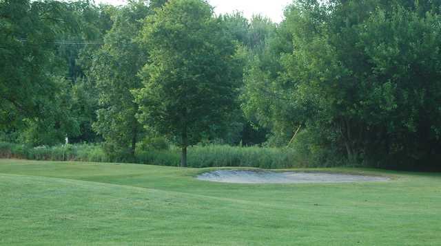 A view of a green at Branson Bay Golf Course