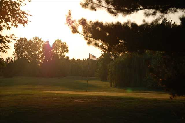 A view from Pleasant View Golf Course