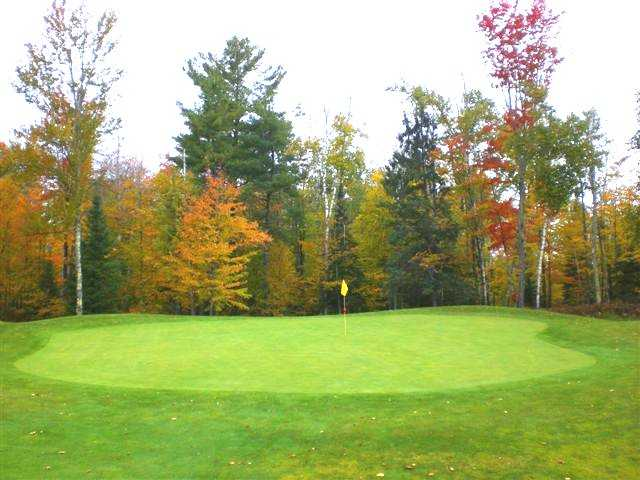A view of the 5th green at Wildwood Marshes Golf Course