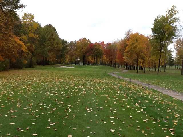 A fall view from Bedford Hills Golf Club