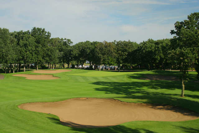 A view of the 9th green at Championship Course from Pebble Creek Country Club