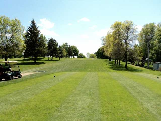 A view from tee #2 at Buffalo Heights Golf Course