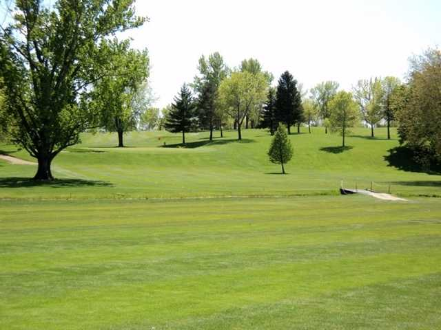 A view of the 6th hole at Buffalo Heights Golf Course