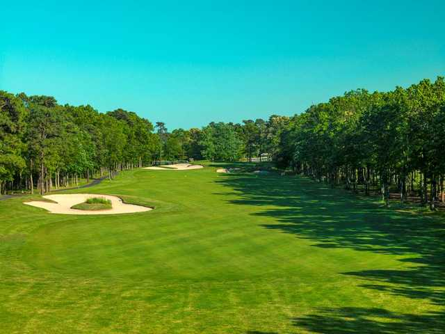 View from no. 17 at Harbor Pines Golf Club