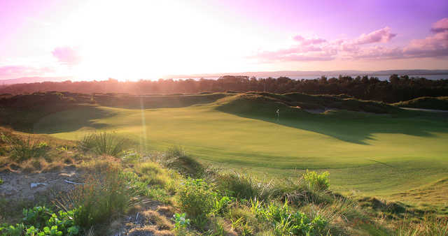 A view from Magenta Shores Golf & Country Club