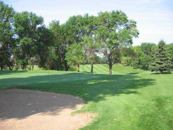 A view of the 11th hole at Pebble Lake Golf Club
