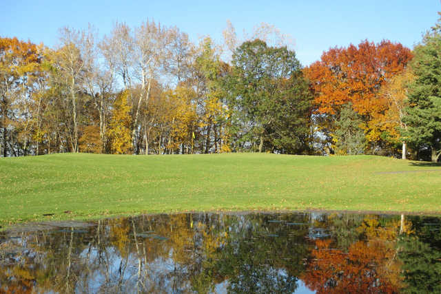 A fall view from Mount Frontenac Golf Course