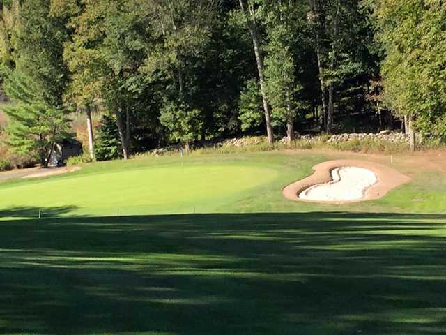 A view of a hole at Somers Pointe Golf Club