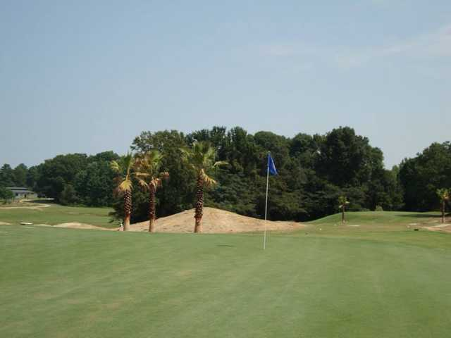 A view of a hole at The Palms Course