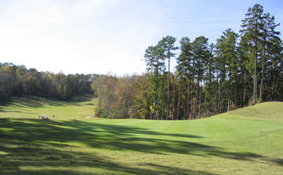 A view of hole #14 at Tennessean Golf Club