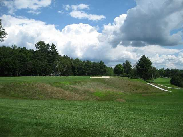A view of the 8th hole at Dorset Field Club