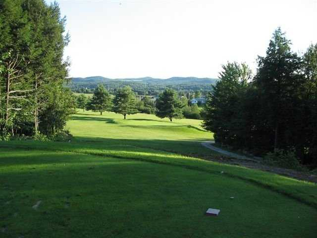 A view from a tee at Enosburg Falls Country Club