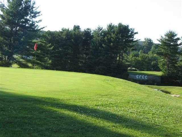 A view of a green at Enosburg Falls Country Club