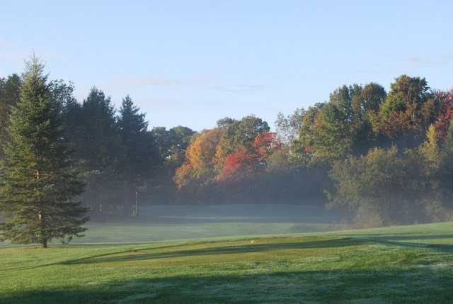 A view from a tee at Cedar Knoll Country Club
