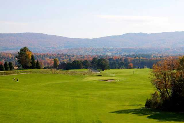 A view from a fairway at Ryder Brook Golf Course