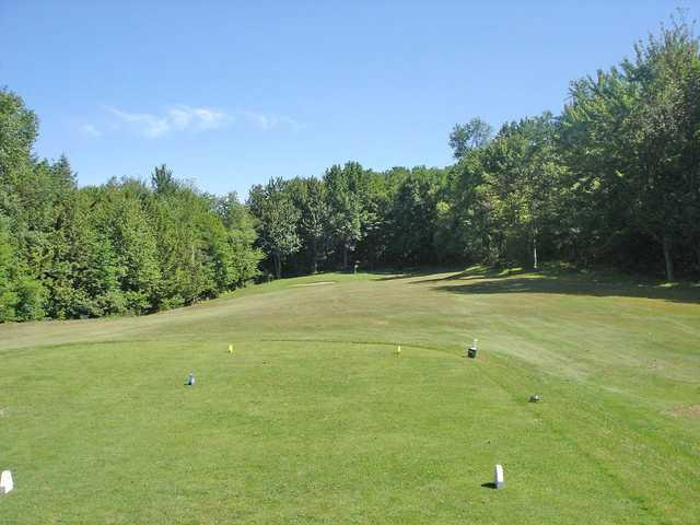 A view from the 7th tee at Richford Country Club