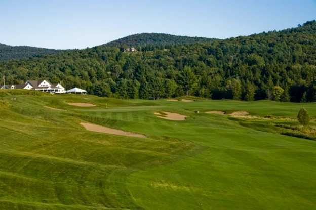 A view of the 6th hole at Country Club of Vermont