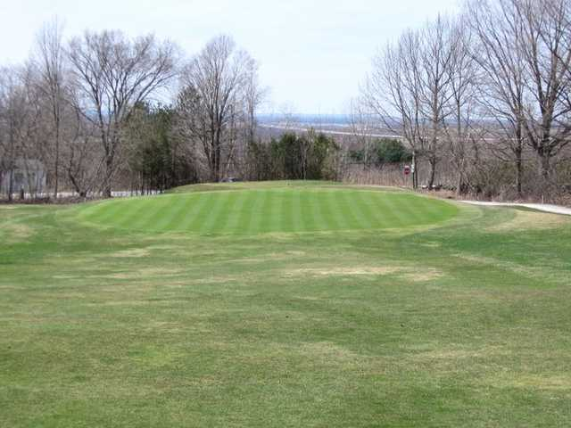 A view of the 17th hole at Champlain Country Club