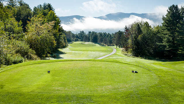 A view from a tee at Stowe Country Club