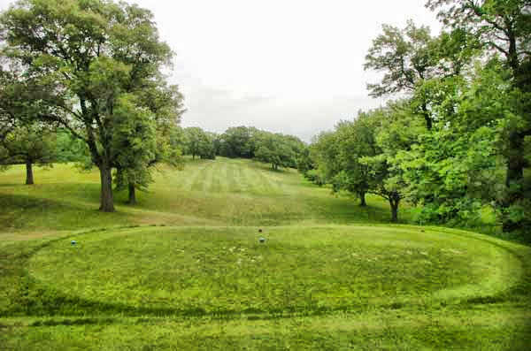 A view from tee #1 at Kenyon Country Club