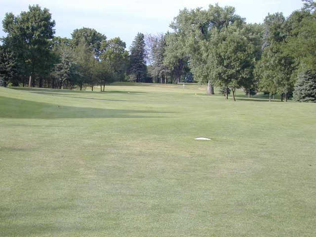 A view from a fairway at Le Sueur Country Club