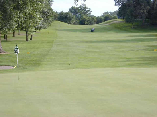 A view of a green at Le Sueur Country Club