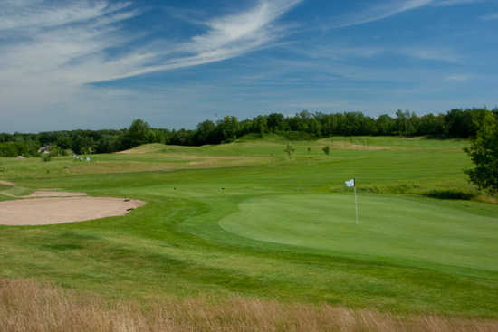 A view of the 11th green at Long Prairie Country Club