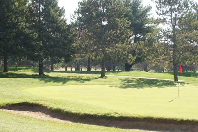 A view of a green at Piper Hills Golf Course
