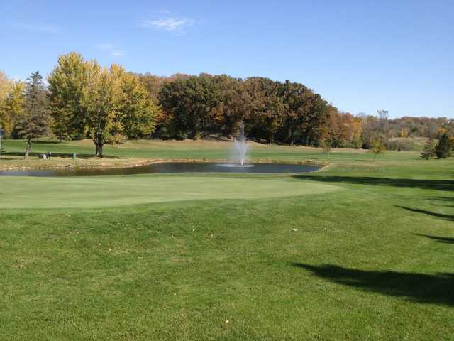 A fall day view from Redwood Falls Golf Club