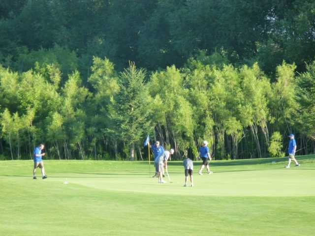 A view of a green at Hadley Creek Golf Learning Center (Rochester Flyers - Special Olympics Team)