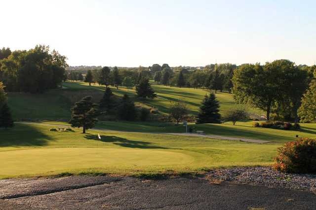 A view of a hole at Northern Hills Golf Club