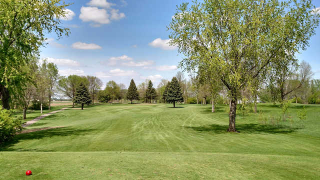 A view from a tee at Sleepy Eye Golf Club