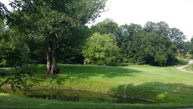 A view over the water from Riverview Greens