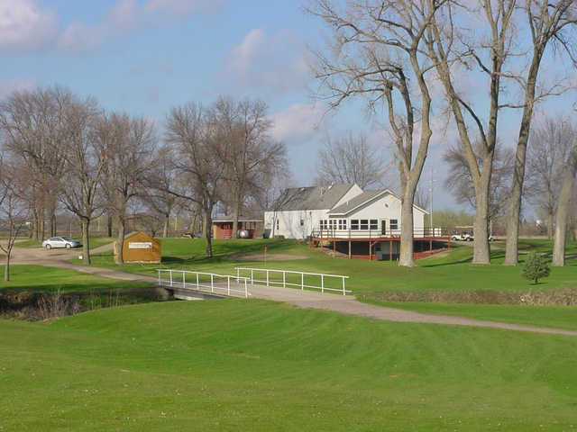 A view of a green at Winthrop Golf Club