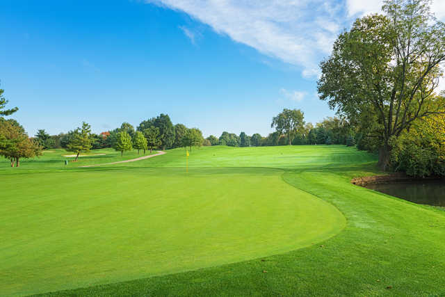 View of the 7th green at Griffin Gate Golf Club (Photo © 2015, Dave Sansom)