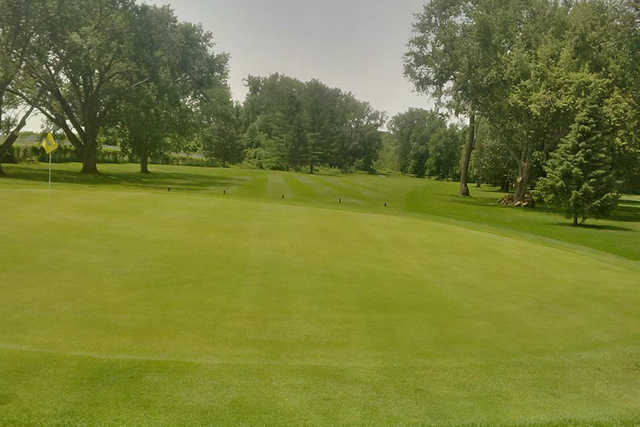 A view of hole #13 at Roundel Glen Golf Club