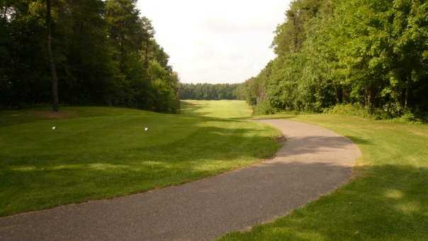 Heritage Glen GC: cart path