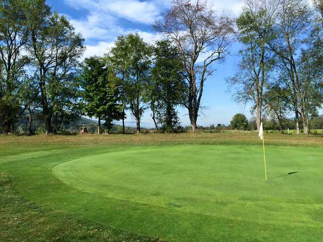 A view of a green at Birch Run Golf Course (Nick Durham)