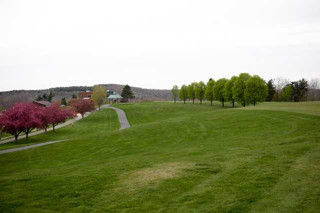 A spring view from Ely Park Golf Course