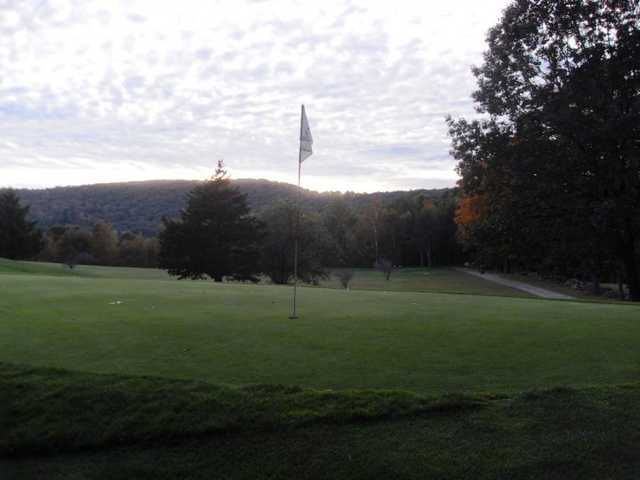 A view of the 3rd hole at Undermountain Golf Course