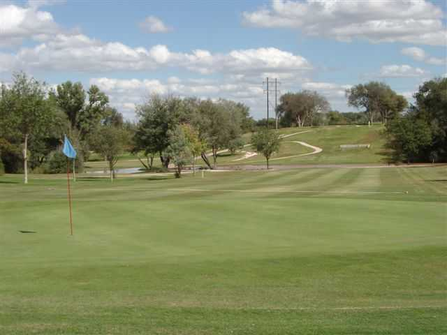 View of a green at John Pitman Golf Club