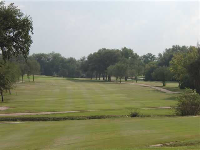 View of a fairway at John Pitman Golf Club