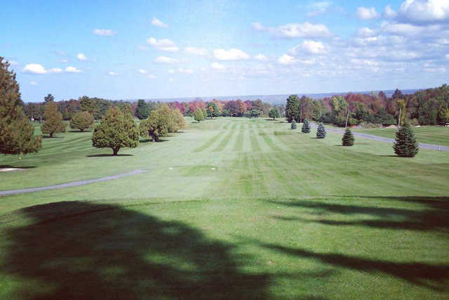 A view from a tee at Carlowden Country Club