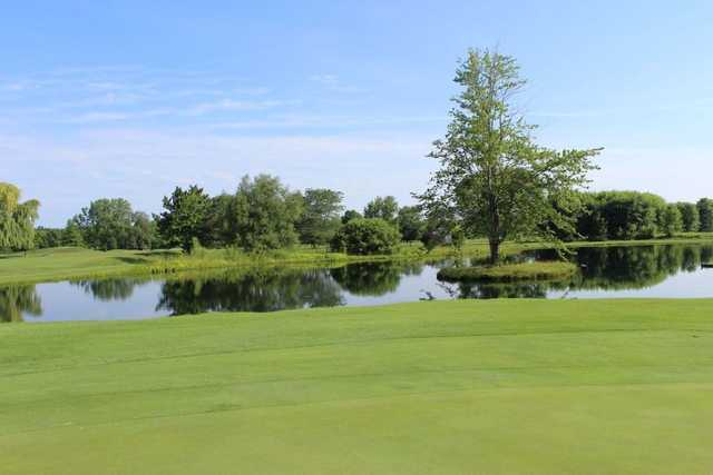 A view over the water from Shorewood Country Club
