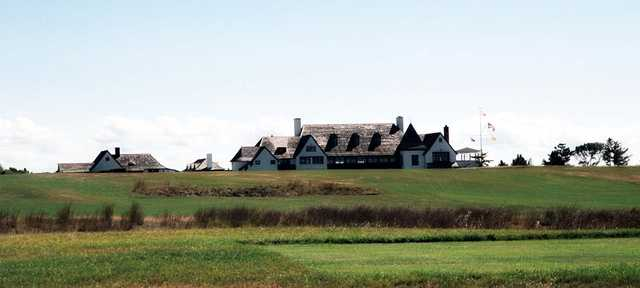 A view of the clubhouse at Maidstone Club