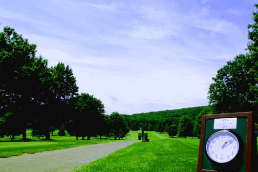 A view from Mark Twain Golf Course