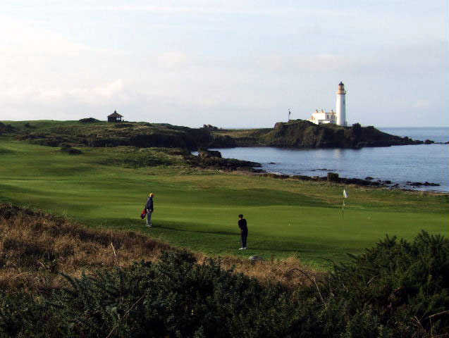 Trump Turnberry's Ailsa course is among the country's most scenic.  ( Photo by Brandon Tucker )