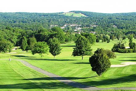 A view from Hickory Hill Golf Course