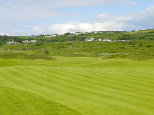 A view from a fairway at Royal Portrush Royal Portrush Golf Club